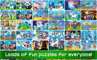 Jigsaw Puzzles Game for Kids & Toddlers