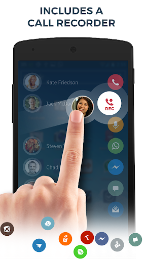 Contacts, Phone Dialer & Caller ID: drupe apktram screenshots 4