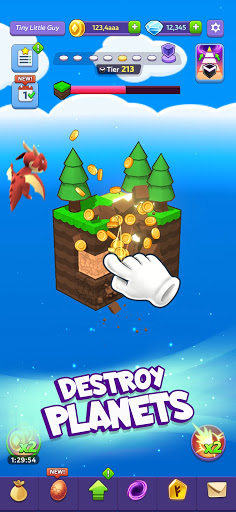 Tiny Worlds: Dragon Idle games  screenshots 1
