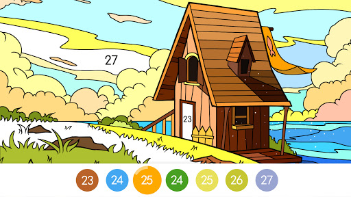 Coloring - color by number 1.1.7 screenshots 19