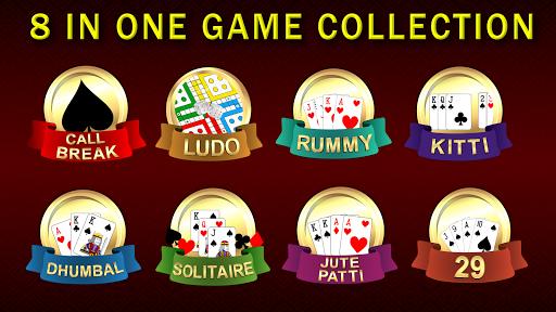 Callbreak, Ludo, Rummy, 29 & Solitaire Card Games 2.8 screenshots 1