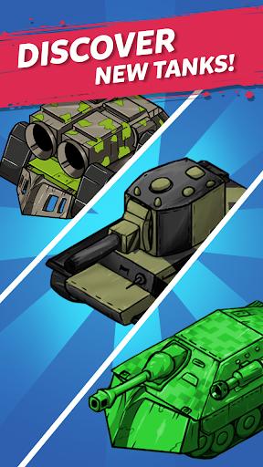 Merge Tanks: Awesome Tank Idle Merger screenshots 4