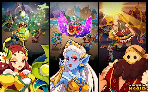 Epic Merge Heroes Mod Apk- Idle RPG (Unlimited Gold) 7