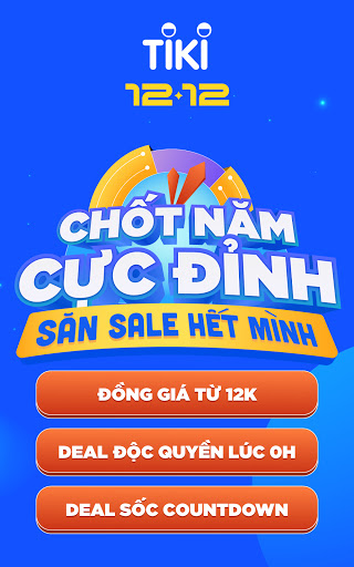 Tiki - 12.12 Sale Cu1ef1c u0110u1ec9nh 4.64.0 Screenshots 9