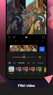 FilmoraGo -  Editor video, creatore di video Screenshot