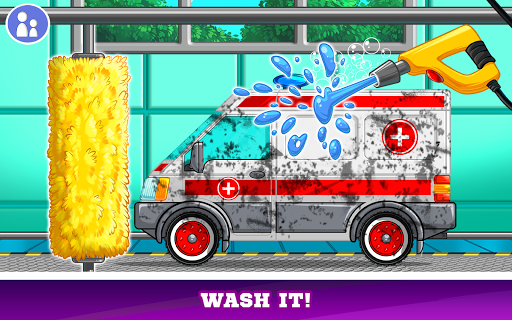 Kids Cars Games! Build a car and truck wash!  screenshots 17