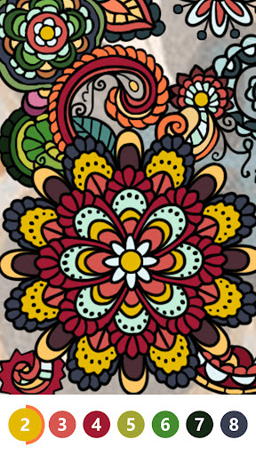 Color by Number: Oil Painting Coloring Book 1.401 screenshots 2