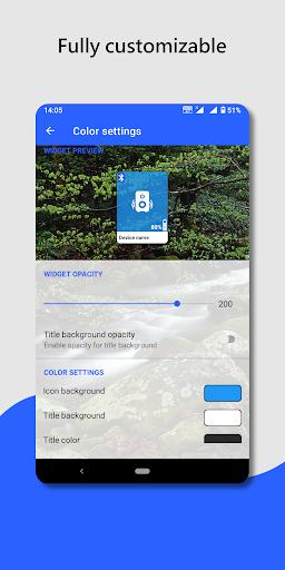 Bluetooth audio device widget: connect, play music  Screenshots 3