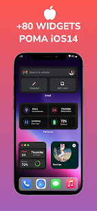 Poma iOS14 For KWGT PRO Apk 1.8 (Full Paid) 2