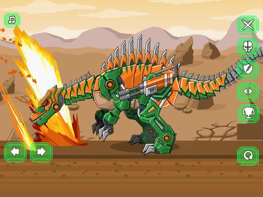 Assemble Robot War Spinosaurus  screenshots 4