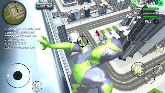 Rope Frog Ninja Hero – Strange Gangster Vegas Mod Apk (Unlimited Money) 6