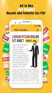 PDF Reader 2020 – PDF Görüntüleyici, Tarayıcı ve Dönüştürücü Full Apk İndir 6