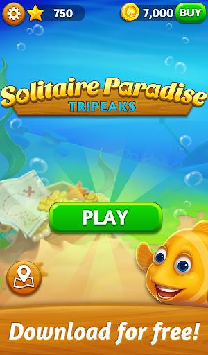 Solitaire Paradise: Tripeaks apktram screenshots 5