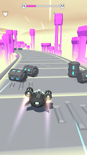 Bob's Cloud Race: Casual low poly game