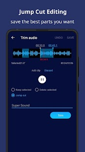 Super Sound - Free Music Editor & MP3 Song Maker Screenshot