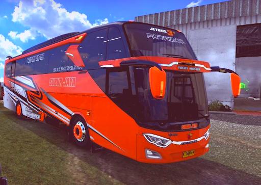Bus Simulator Double Decker Indonesia : Livery Bus  screenshots 3