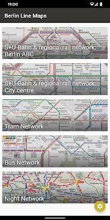 Berlin Liniennetz S und U Bahn