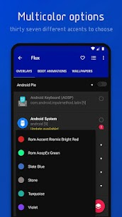 Flux Pro Apk – Substratum Theme (Patcher) 8