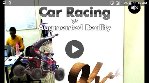 ar car drive : camera version screenshot 1