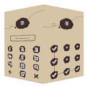 AppLock Theme ChalkDoodle  Icon