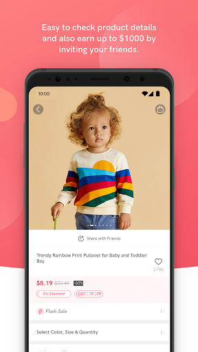 PatPat: Kids, Baby Clothing u2013 Daily Deals for Moms android2mod screenshots 3