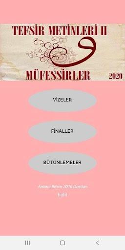 Ankara u0130litam Tefsir Metinleri II (Mu00fcfessirler)  screenshots 1