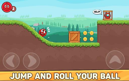Bounce Ball 6: Red Bounce Ball Hero 5.2 Screenshots 9