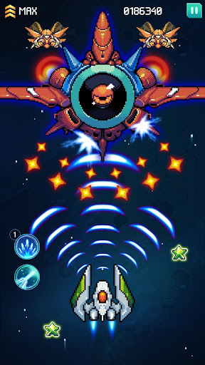 Galaxiga: Galaga Arcade Shooter 80s - Free Games 20.2 screenshots 3