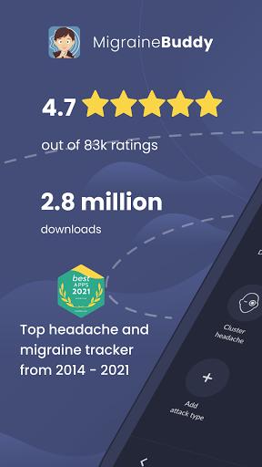 Migraine Buddy - The Migraine and Headache Tracker apktram screenshots 1