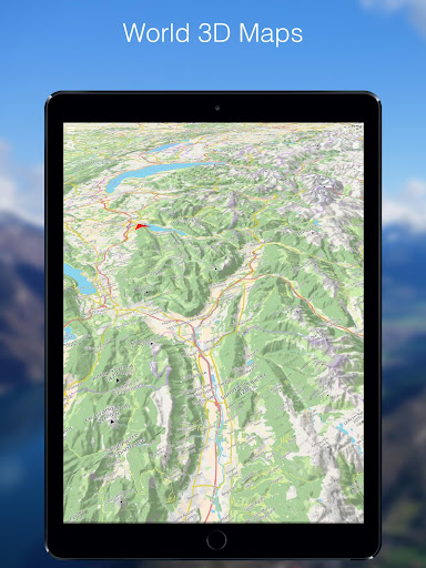 Relief Maps - 3D GPS Hiking | Trail Running | Ski 1.0.5 Screenshots 4