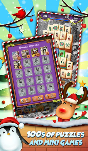 Xmas Mahjong: Christmas Holiday Magic apktram screenshots 3
