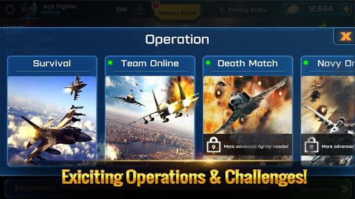 Ace Fighter: Modern Air Combat Jet Warplanes 2.58 screenshots 8