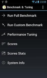 Benchmark & Tuning (Full)