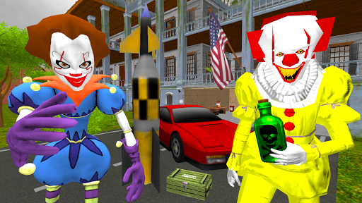 Clown Brothers. Neighbor Escape 3D apkpoly screenshots 1