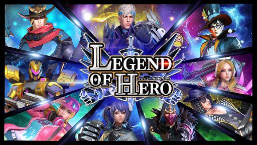 LEGEND OF HERO : u30ecu30b8u30a7u30f3u30c9u30aau30d6u30d2u30fcu30edu30fc 2.3.0 screenshots 9
