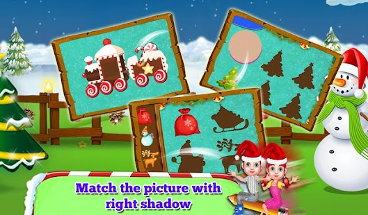 Connect The Dots: Christmas Educational Kids Game Screenshot