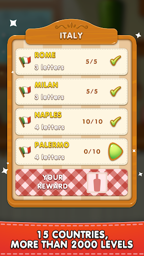 Word Pizza - Word Games Puzzles 2.3.4 screenshots 4