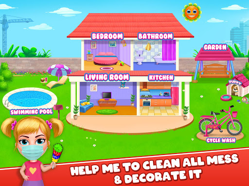 Big Home Makeover - House Cleaning Game for Girls 3.0 screenshots 7