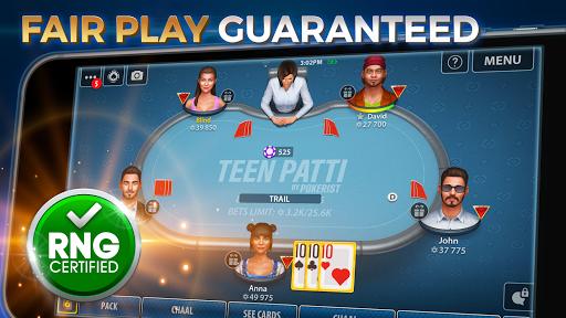Teen Patti by Pokerist modavailable screenshots 1