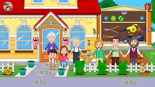 My Town : Grandparents Free For Android (MOD, Unlimited Money) 6