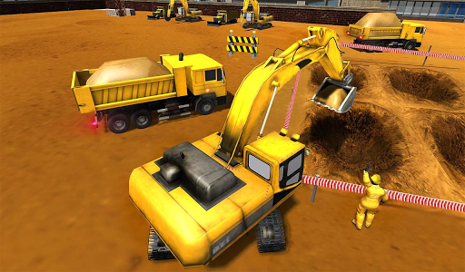 Road Construction Games 2021: Building Games 2021 modavailable screenshots 2