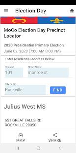 MoCo Voters App 1.0.9 Screenshots 3