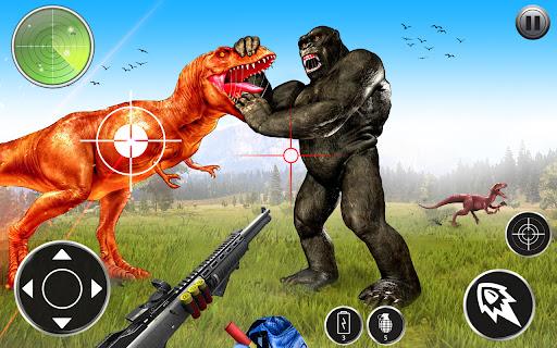 Angry Dinosaur Attack Dinosaur Rampage Games  screenshots 1