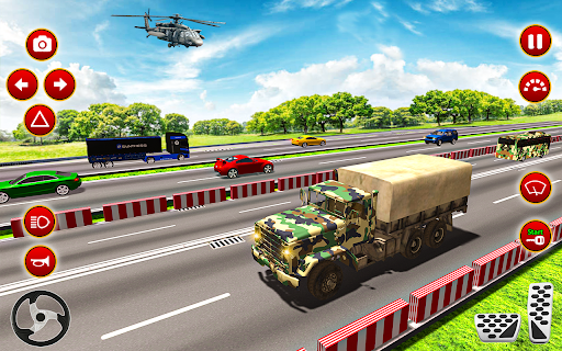 Army Truck Driver transport US Military Games 2021 screenshots 1