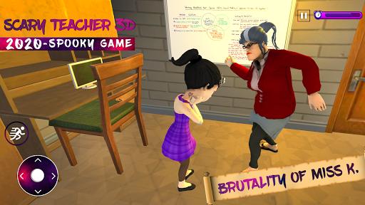 Scary Evil Teacher 3D Game Creepy Spooky Game 2020 3.2 screenshots 2