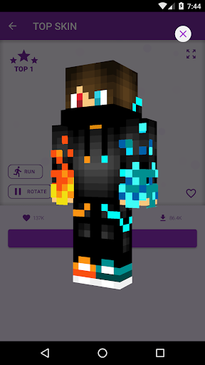 PvP Skins for Minecraft PE android2mod screenshots 9
