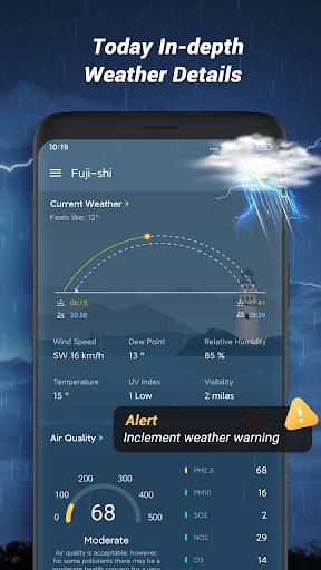 Local Weather Forecast - Radar map 1.1.2 Screenshots 2