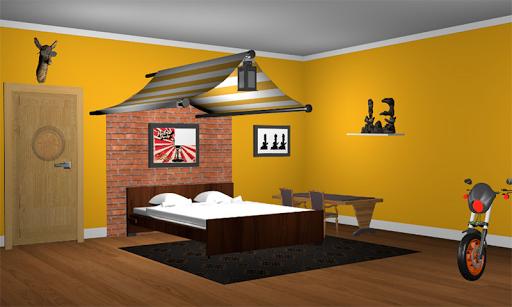 3D Escape Games-Puzzle Bedroom 5 1.5.9 screenshots 1