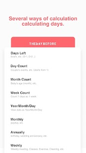 TheDayBefore (days countdown) Screenshot
