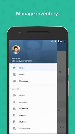 Zoho CRM - Sales & Marketing apktram screenshots 8